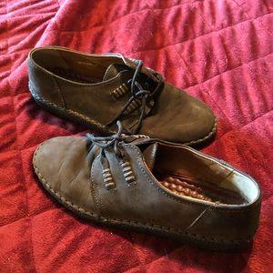 Josef Seibel Air Massage Leather Shoes